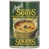 Amy'S Kitchen Organic Vegetable Barley Soup, 398 ml