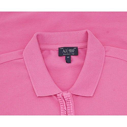 Armani - Camiseta de manga larga - para mujer Rosa scuro