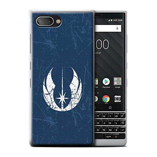 STUFF4 Phone Case/Cover for Blackberry KEY2/BBF100/Jedi Order Inspired Design/Galactic Symbol Art (Blackberry Storm Smartphone Skin)