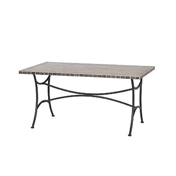 Siena Garden Tisch Ponza 150x90x73 Cm Graphite Steel Frame Powder