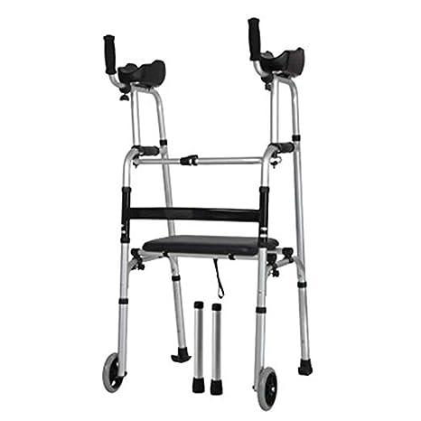 YUNSHINE Andadores con ruedas para personas mayores con ...
