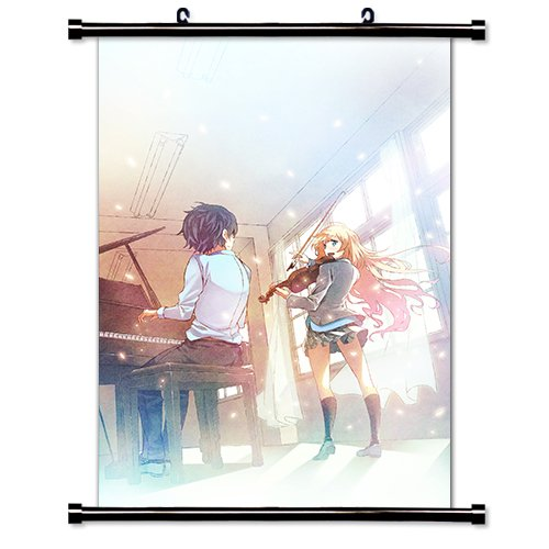 Your Lie in April  Anime Wall Scroll Poster  Inches