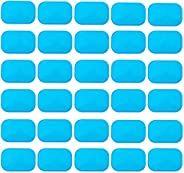ANLAN Abs Stimulator Gel Pads 30 Pcs Replacement Gel Sheet for EMS Muscle Trainer Abs Muscle Toning Belt, Acce