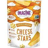 Imag!ne White Cheddar Cheese Stars, 4.5 Ounce Bag