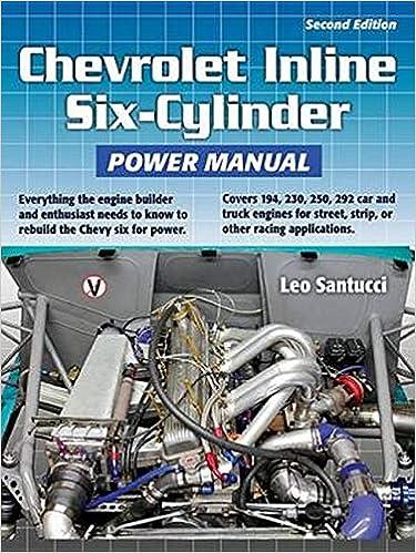 [DIAGRAM_5LK]  Chevrolet Inline Six-Cylinder Power Manual: Santucci, Leo: 9781931128278:  Amazon.com: Books   Chevy Straight Six Engine Diagram      Amazon.com
