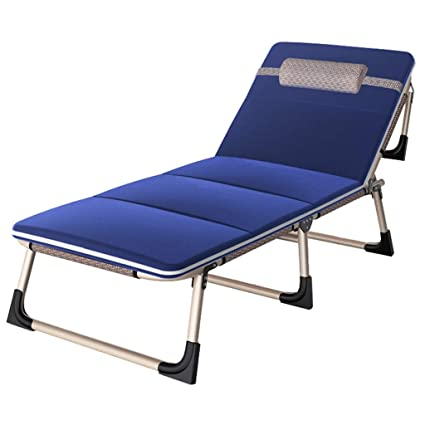 Amazon.com: Patio Sillón Chaise Cama Ajustable Reclinable ...