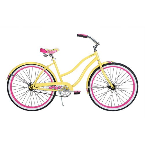"26"" Huffy Cranbrook Women's Bike, Banana Yellow"