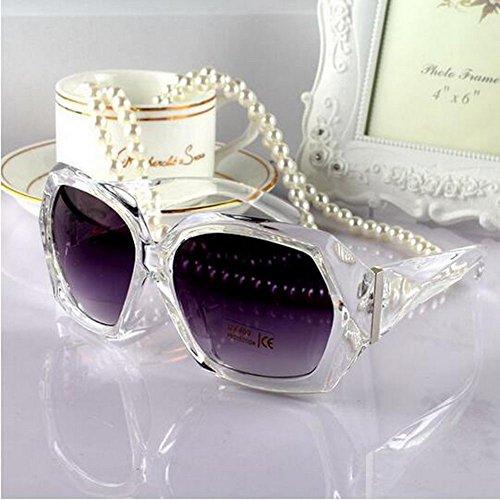 XENO-Ladies Crystal Black Frame Sunglasses Shades Oversized Women Large Big Fashion - Oakleys Camo Fake