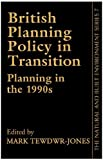 British Planning Policy Transition, Jones Staff, 1857284216