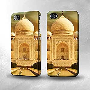 taoyix diy Apple iPhone 4 / 4S Case - The Best 3D Full Wrap iPhone Case - Taj Mahal
