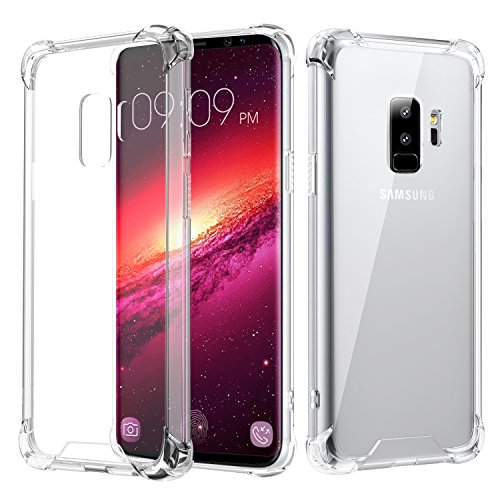 Samsung Galaxy Plus Case, MoKo Crystal Clear TPU...