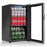Costway Beverage Refrigerator Portable Mini Beer Wine Soda Drink...