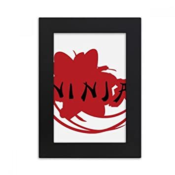 Amazon.com: DIYthinker Japan Ninja Words Sakura Silhouette ...