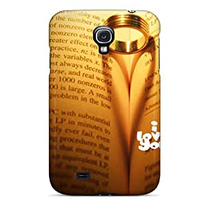 New Premium Flip Case Cover Love Shadow Skin Case For Galaxy S4