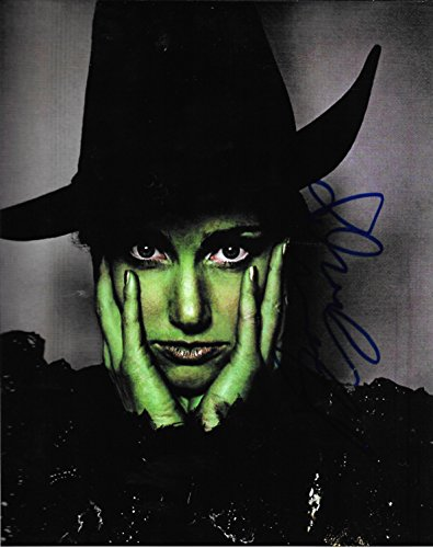 Idina Menzel from Wicked Autographed 8 X 10 Reprint Photo - Mint Condition