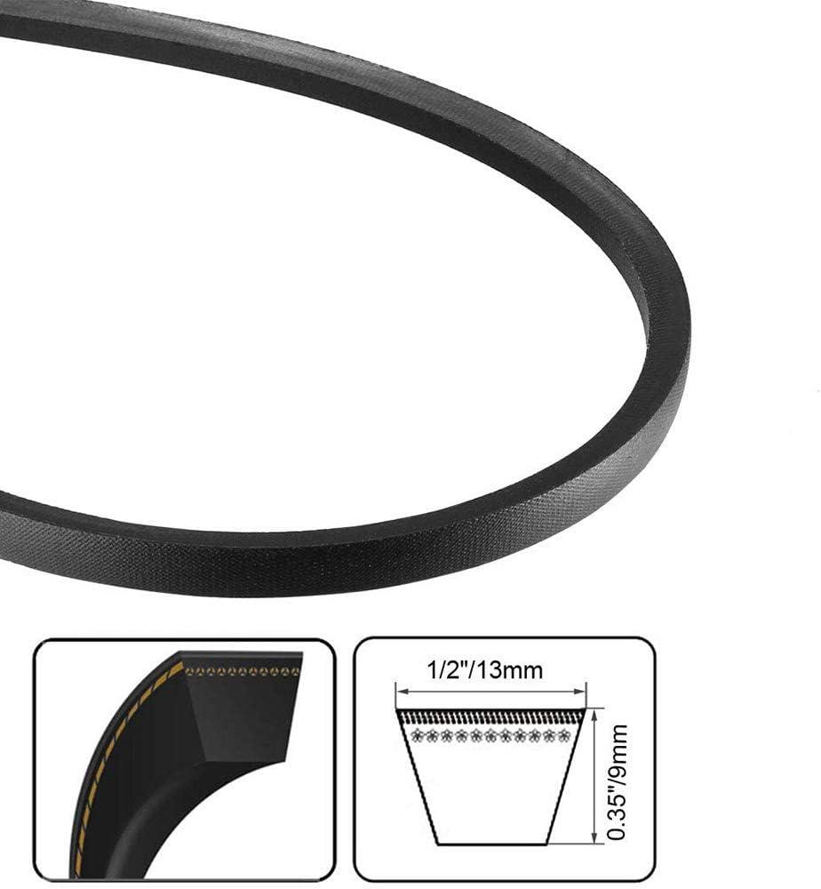 A-30 Drive V-Belt Girth Industrial Power Rubber Transmission Belt Rubber Belt Black