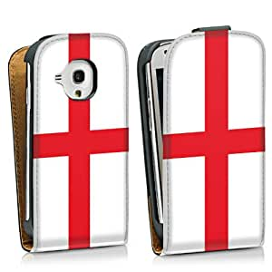 Diseño para Samsung Galaxy S3 Mini I8190 DesignTasche Downflip black - Flag of England