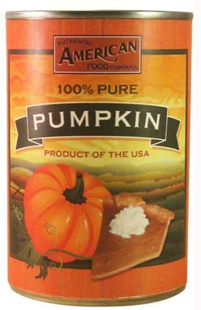 100% Pure Canned Pumpkin 425g