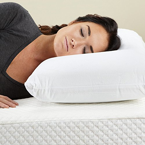 conforma cushion firm memory foam pillow queen import it all. Black Bedroom Furniture Sets. Home Design Ideas