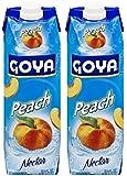 Goya Peach Nectar 33.8 Fl.Oz. (Pack of 02)