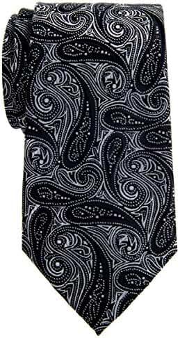 Retreez Elegant Paisley Art Pattern Woven Microfiber 3.15