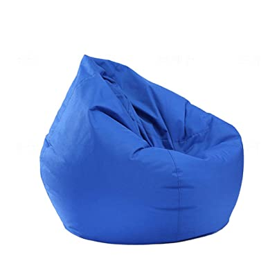 IRRIS Waterproof Bean Bag Chair Large Storage Bean Bag Oxford Chair Cover for Kids, Teens and Adults Lounger Sack Material: Cloth. Machine Washable Removable Slip Cover.: Kitchen & Dining
