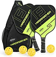 A11N HyperFeather SE Pickleball Paddles Set of 2 - USAPA Approved   7.3OZ, Graphite Face & Polymer Core, C
