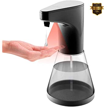 BuTure Soap Dispenser Touchless, Automatic Kitchen Soap Dispenser Bathroom  Adjustable Soap Battery Operated Hands