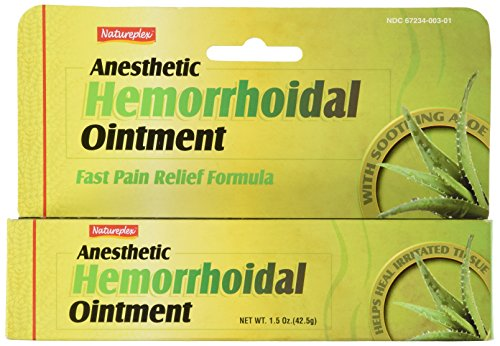 Natureplex Anesthetic Hemorrhoidal Ointment Formula product image
