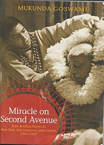 Krishna Book Store Devotional Books Miracle On Second Avenue By Mukunda Goswami
