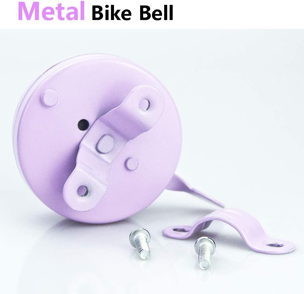 HEYGOO Cute Unicorn Bike Bell for Girls Bicycle Handlebar Bell Bell for Bicycle