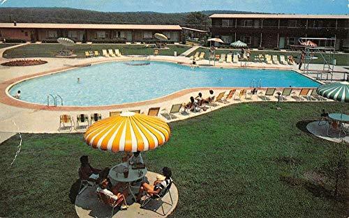 Wagoner Oklahoma Western Hills Lodge Pool View Vintage Postcard K431519