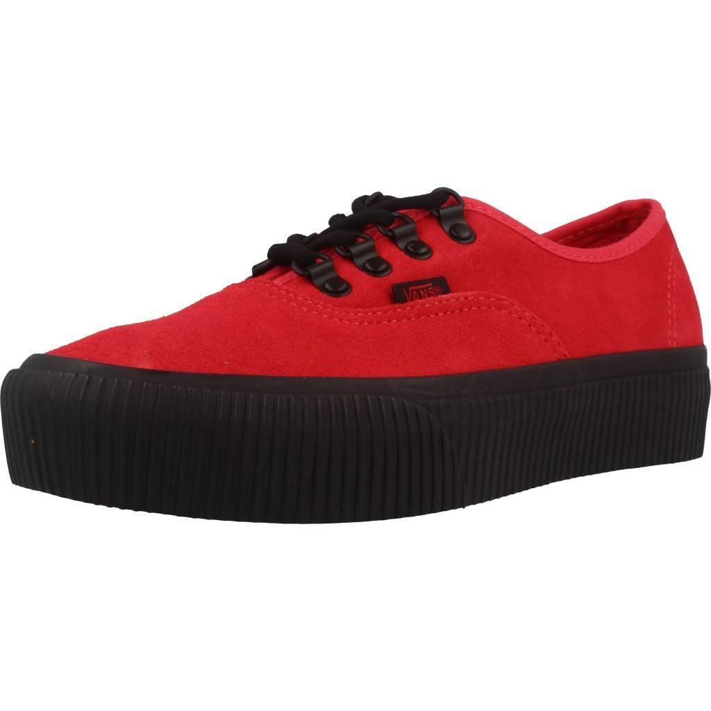 Vans Damen Laufschuhe, Farbe Rot, Marke, Modell Damen Laufschuhe VA3AV8QTB Rot  39 EU Rot
