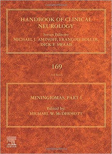 Meningiomas, Part I: (Handbook of Clinical Neurology, Volume 169) - Original PDF
