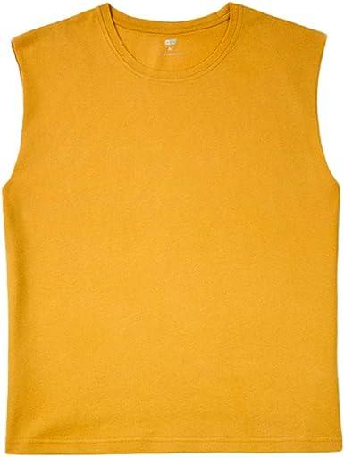 Camisetas de Tirantes Hombre, Verano Moda Hombre básica Casual Deporte Gym Camiseta sin Mangas Original Slim Fit Camisetas de Tirantes Color sólido Top Shirts Camisas Camiseta vpass: Amazon.es: Ropa y accesorios