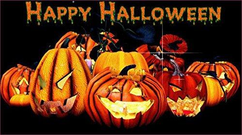 Happy Halloween Vinyl Sticker (External Fitting) -
