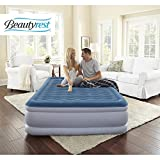 Beautyrest New Simmons Silver Extraordinaire with iFlex Support and Internal Pump Raised Air Mattress, Multiple