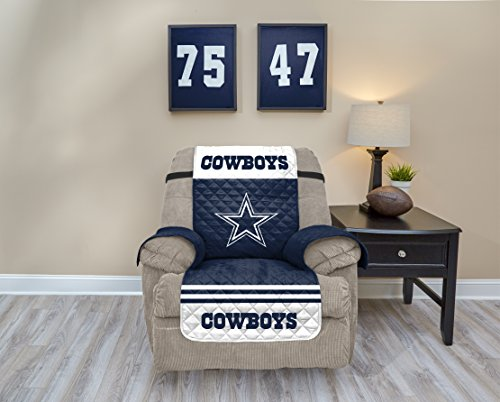 (Pegasus Sports NFL Dallas Cowboys Recliner Waterproof Furniture Protectors with Pockets)