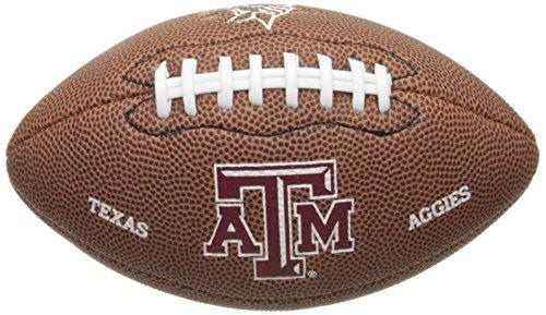 Wilson NCAA Texas A&M Aggies Team Football, Mini, Brown