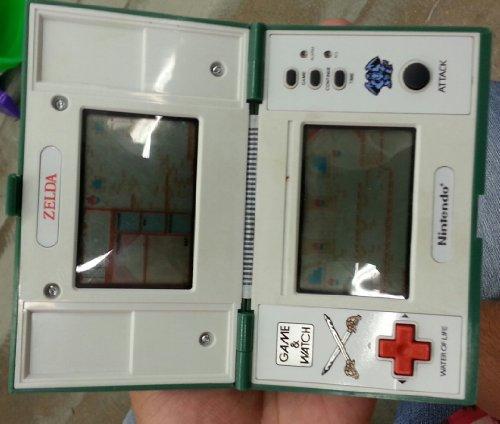 Zelda Game Watch Handheld Zl Nintendo