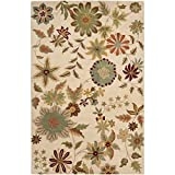 Safavieh Soho Collection SOH702A Handmade Ivory and Sage Premium Wool Area Rug (6′ x 9′) Review
