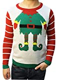 """Product review for Ugly Christmas Sweater Teen Boy's Funny """"Just Elfing Around"""" Sweater"""