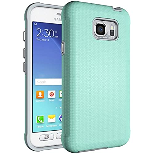 S7 Active Case, MYRIANN[Shock Absorption] Dual Layer Heavy Duty Protective Silicone Plastic Cover Case for Samsung Sales