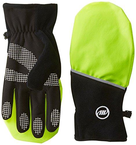 Manzella Men's Hatchback Gloves, Large, Hi Viz Yellow ()