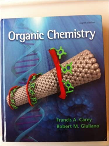 Amazon organic chemistry 9780073402611 francis a carey books organic chemistry 8th edition fandeluxe Images