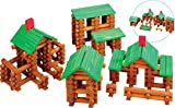 School Smart 074664 Tumbletree Timbers Building Set, Wood (Pack of 300)