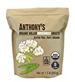 Anthony's Organic Hulled Buckwheat Groats (1.5lb), Raw, Grown in USA, Gluten-Free