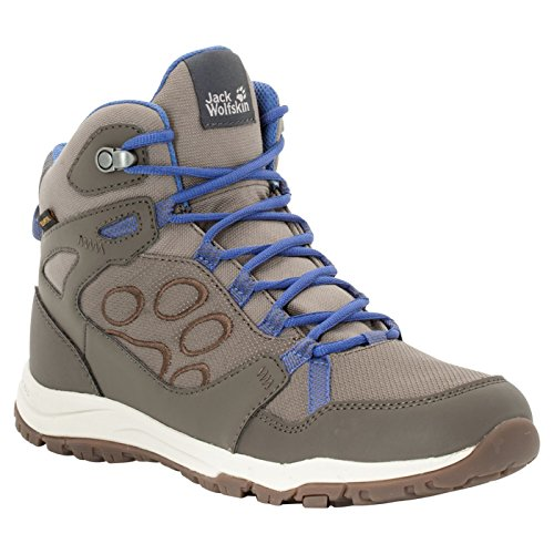 Jack Wolfskin Womens/Ladies Activate Texapore Mid Waterproof Boots Azul Atardecer