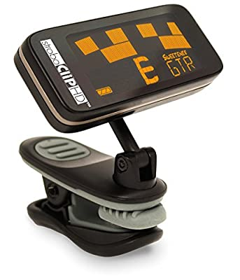 Peterson StroboClip HD Clip-On Tuner | Guitar, Bass, Violin, Ukulele, Harp, Brass, Woodwind, Orchestral