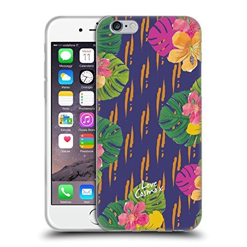 Official Cosmopolitan Hawaiian Tropical Soft Gel Case for Apple iPhone 6 / 6s